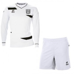 Kit Maillot OLYMPIC ML Blanc + Short Blanc