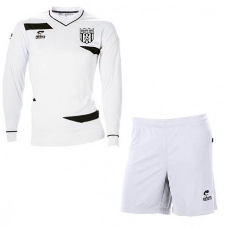 Kit Maillot OLYMPIC ML Blanc + Short Blanc