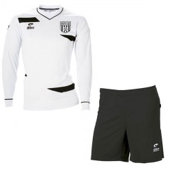 Kit Maillot OLYMPIC ML Blanc + Short Noir