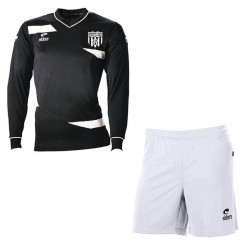 Kit Maillot OLYMPIC ML Noir + Short Blanc