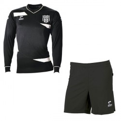 Kit Maillot OLYMPIC ML Noir + Short Noir