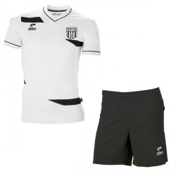 Kit Maillot OLYMPIC MC Blanc + Short Noir