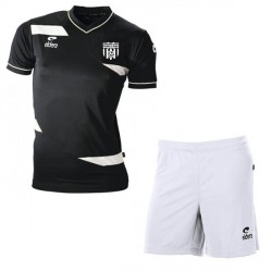 Kit Maillot OLYMPIC MC Noir + Short Blanc