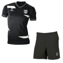 Kit Maillot OLYMPIC MC Noir + Short Noir