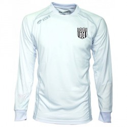 Maillot CUP Manches Longues Blanc + Logo Club